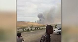 Azerbaycan'da patlama! 2 �l�, �ok say�da yaral� var