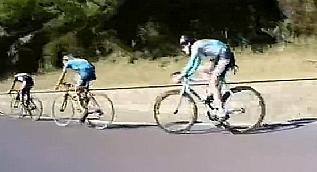 Pedal �evirmeden t�m rakiplerini ge�en bisiklet�i