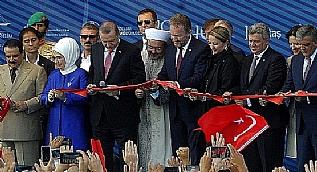 Yavuz Sultan Selim K�pr�s� dualarla a��ld�