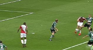 Nacer Barazite'den Dennis Bergkamp gol�