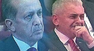Cumhurba�kan� Erdo�an ve Ba�bakan Y�ld�r�m a�lad�