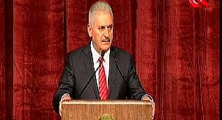 Ba�bakan Y�ld�r�m: Bize ma�a uzatan eli k�rar�z