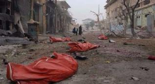 Halep'le birlikte insanlık da öldü