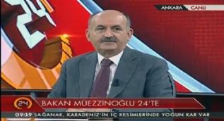 Özel Röportaj- Çalışma ve Sosyal Güvenlik Bakanı Mehmet Müezzinoğlu soruları cevapladı