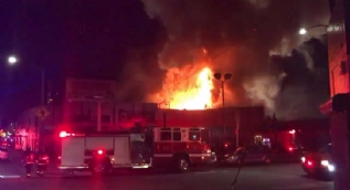 ABD'deki yangında 9 kişi öldü