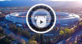 Apple Park'ın İHA'larla çekilen yeni görüntüleri heyecan uyandırıyor