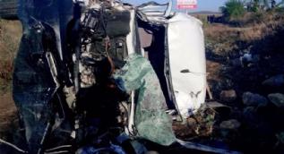 Bursa'da feci kaza, 1'i çocuk 7 kişi hayatını kaybetti