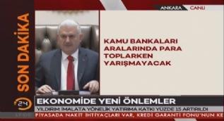 Başbakan Yıldırım: Devlet mecbur kalmadıkça döviz üzerinden sözleşme yapmayacak, geri dönük olarak da işlemler yapılacak