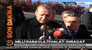 Cumhurbaşkanı Erdoğan: Benim milletim faiz lobisine artık prim vermeyecektir
