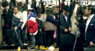 Tokyo'da metroya binme çilesi pes dedirtti