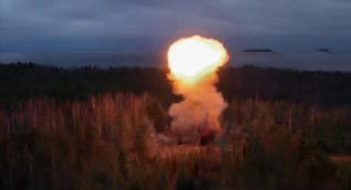 Rusya´da füzelerin komuta merkezi test edildi