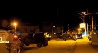 Diyarbakır Hazro'da jandarma karakoluna bombalı saldırı düzenlendi.
