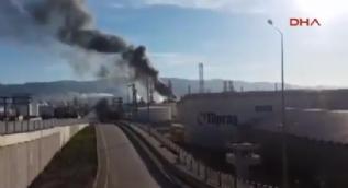Tüpraş'ta patlama meydana geldi: