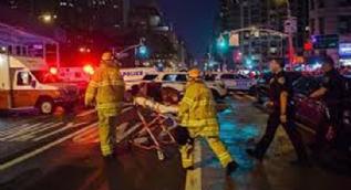 Newyork'ta patlama: Yaralılar var