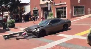 ABD'de arabayla gerçekleştirilen saldırının yeni görüntüleri