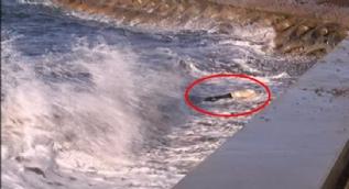 Kadıköy'de denizden erkek cesedi çıktı