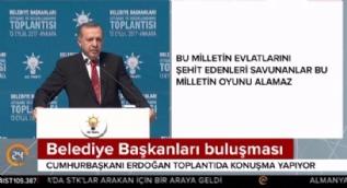 Cumhuraşkanı Erdoğan: Belediyelerimiz heykel değil, hizmete yönelik eserler diksinler