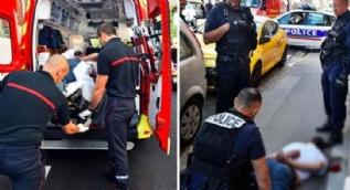 Fransa'da polise saldırı: 7 yaralı