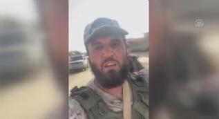 Suriye Milli Ordusu komutanları Tel Abyad´da sevinç gözyaşları döktü