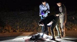 Konya'da yol ortasında bacakları parçalanmış erkek cesedi bulundu