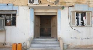 YPG´li teröristlerin DEAŞ´lıları serbest bıraktığı hapishane görüntülendi