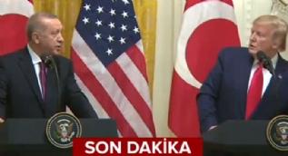 Başkan Erdoğan Trump´ı böyle düzeltti: İşte o anlar!
