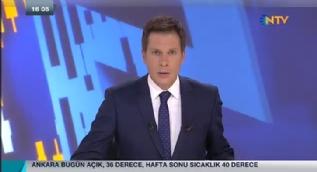 NTV spikeri canl� yay�nda zor anlar ya�ad�