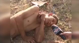 Can �eki�en yaral�yla r�portaj yapan muhabir