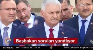 Başbakan Yıldırım'dan Barzani'ye referandum çağrısı: Vakit yakınken bu yanlıştan dönün