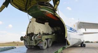 Rusya Savunma Bakanlığı, Türkiye'ye S-400 sevkiyatının görüntülerini yayımladı