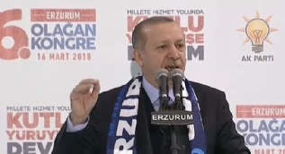 Cumhurbaşkanı Erdoğan´dan FETÖ´ye: Sen ümmeti parçaladın Dadaşlar seni kabul etmez