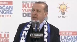 Cumhurbaşkanı Erdoğan: ABD bizimle çalışmak istiyorsa Fırat´ın doğusundaki teröristleri oradan çıkartmalı