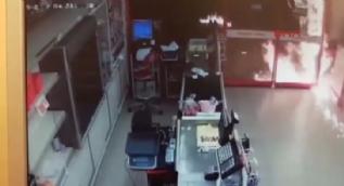 Eyüp'teki saldırı kamerada