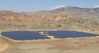 Soğuğuyla bilinen Erzurum'a 1 milyon dolarlık güneş enerji sistemi kurdular
