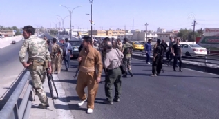 PKK'lı militanlar ve Peşmergeler Irak güçlerine böyle ateş açtı