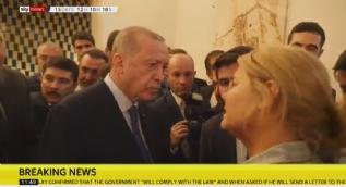 Başkan Erdoğan, SKY News muhabirinin ´ABD´ sorusuna bu yanıtı verdi
