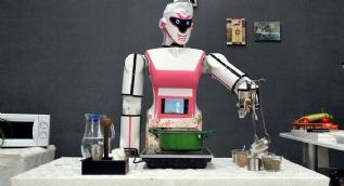 ´Erik Dalı´ oynayan robot yaptılar