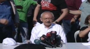 Kavurmacı'nın tutuklanmasını eleştiren Kılıçdaroğlu, tahliye edildiğinde de 'Damat serbest, gariban içeride' demişti.