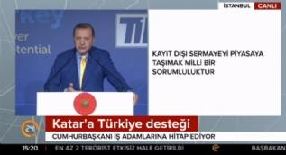 Cumhurbaşkanı Erdoğan: İslam dünyasına dargınlıklar yakışmıyor bunları diyalog yoluyla çözmeye muktediriz