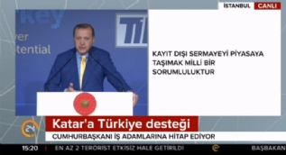 Cumhurbaşkanı Erdoğan 'Yollar yürümekle aşınmaz' dedi ve ekledi...