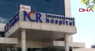 Gaziantep´te özel hastanede yangın çıktı, 2 kişi hayatını kaybetti
