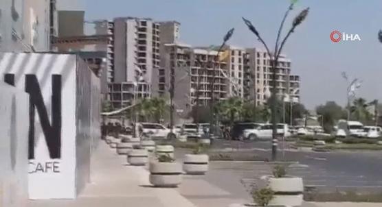 Erbil´de Türk diplomatların bulunduğu restorana silahlı saldırı