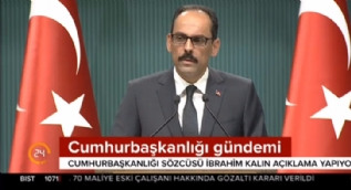 Cumhurbaşkanlığı Sözcüsü Kalın'dan  Donanma Komutanı Veysel Kösele açıklaması