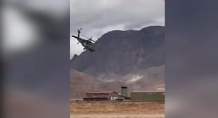 Helikopterle drift yapan çılgın Türk pilot