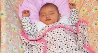 Masal bebeğe devlet eli uzandı