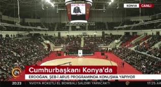 Cumhurbaşkanı Erdoğan'dan Konya'da önemli mesajlar