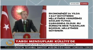Erdoğan: Milli iradeye saygı göstermeyenlerin sergiledikleri nobranlıkları unutmam
