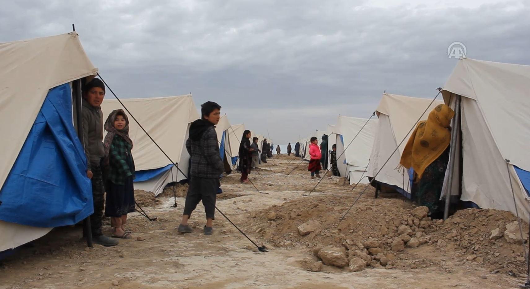 Türkiye Diyanet Vakfı, Afganistan´da 'Kayseri Muhacir Kampı' kurdu