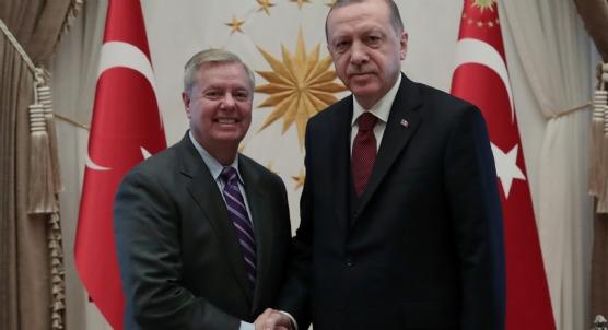 Başkan Erdoğan, ABD´li senatör Graham´ı kabul etti