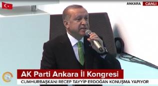 Cumhurbaşkanı Erdoğan: Tarih sizi bununla anacaktır